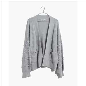 Madewell NWT Bobble Cardigan Sweater